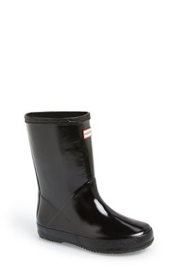 Hunter First Gloss Rain Boot (Walker  Toddler) | Nordstrom