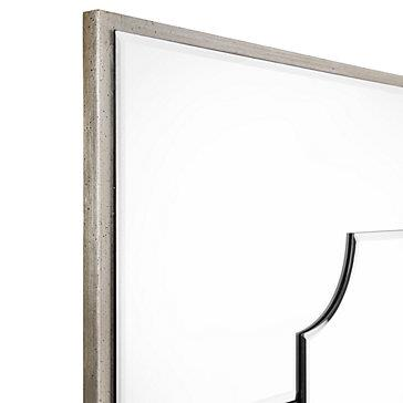 Simplicity leaner mirror mirrors mirrors wall decor for Mirror z gallerie